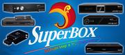 Цифровой спутниковый ресивер! SuperBox - HD