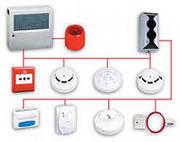 Видеонаблюдение,  охранно- пожарные сигнализации