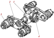 Вал колесный ДЗ-122