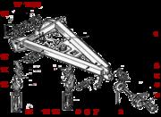 Рама тяговая ДЗ-122,  наличие