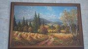 Продам картину с видом на невероятный пейзаж Карпат
